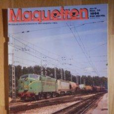 Trenes Escala: REVISTA - MAQUETREN - AFICIONADOS TREN, TRENES ELÉCTRICOS A ESCALA Y MAQUETAS, FERROVIARIOS, Nº 25. Lote 210370406
