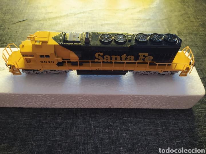 Trenes Escala: Locomotora santa fe 5043 bachmann escala ho nueva - Foto 2 - 210349380