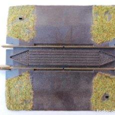Trenes Escala: FLEISCHMANN 6099 TRAMO DE VIA PROFI PARA PASO A NIVEL. Lote 210456283