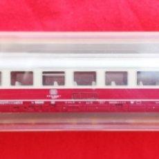 Trenes Escala: MINITRIX - RF. 13096 - VAGÓN PASAJEROS 1ª ~ DB - EN CAJA SIN ESTRENAR - PJRB. Lote 210520772