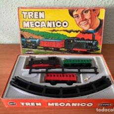 Trenes Escala: TREN MECANICO GEYPER (AÑOS 60, 123). Lote 210736799