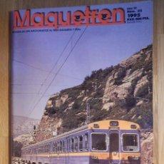 Trenes Escala: REVISTA - MAQUETREN - AFICIONADOS TREN, TRENES ELÉCTRICOS A ESCALA Y MAQUETAS, FERROVIARIOS, Nº 32. Lote 210963461