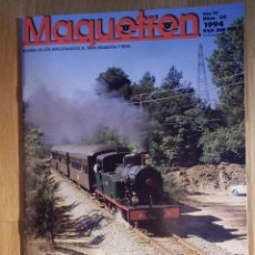 Trenes Escala: REVISTA - MAQUETREN - AFICIONADOS TREN, TRENES ELÉCTRICOS A ESCALA Y MAQUETAS, FERROVIARIOS, Nº 27. Lote 210964175