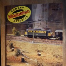 Trenes Escala: REVISTA - MAQUETREN - AFICIONADOS TREN, TRENES ELÉCTRICOS A ESCALA Y MAQUETAS - ESPECIAL Nº 1/95. Lote 210964267