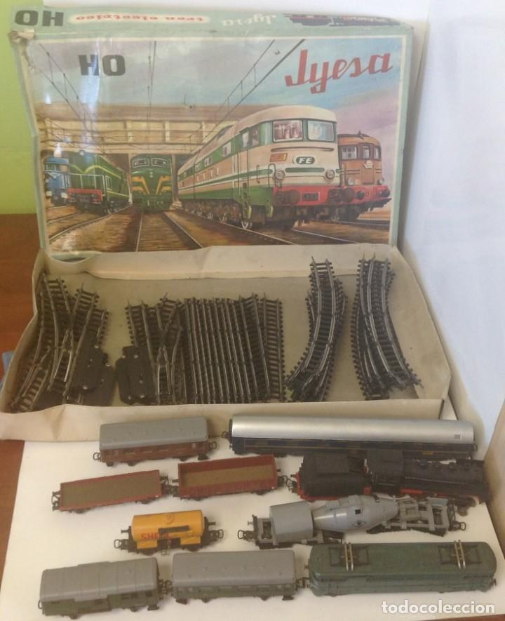 TREN ELECTRICO - ESCALA HO - JYESA 1911 (Juguetes - Trenes Escala H0 - Otros Trenes Escala H0)