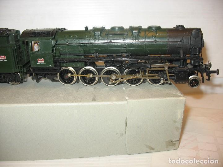 Trenes Escala: Jouef - Locomotora de vapor de la SNCF corriente continua - Escala H0 - Foto 15 - 212375858