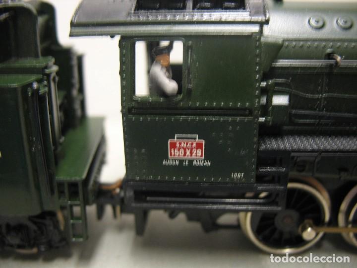 Trenes Escala: Jouef - Locomotora de vapor de la SNCF corriente continua - Escala H0 - Foto 18 - 212375858