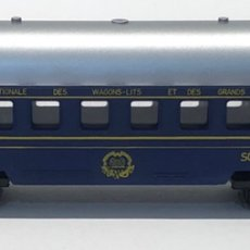 Trenes Escala: MEHANOTEHNIKA VAGÓN COCHE CAMA WAGONS - LITS REFERENCIA 038. ESCALA H0. Lote 212599755