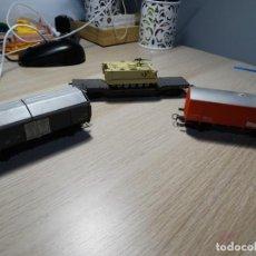 Trenes Escala: LOTE DE TRES VAGONES DE CARGA JOUEF H0. Lote 213668467