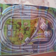 Trenes Escala: DIORAMA, PLANTILLA EN PAPEL PARA MONTAJE DE MAQUETA DE TREN. POSTER. 180 X 121 CM. Lote 214007332