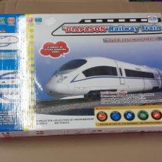 Trenes Escala: TREN,DIAPASON RAILWAY TRAIN, FUNCIONA. Lote 214572886