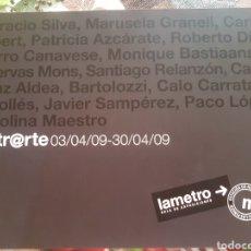 """Trenes Escala: LIBRO """"METR@RTE' FGV AÑO 2009. Lote 216780287"""