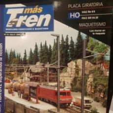 Trenes Escala: REVISTA MÁS TREN N°14, AÑO 2005. Lote 217272431
