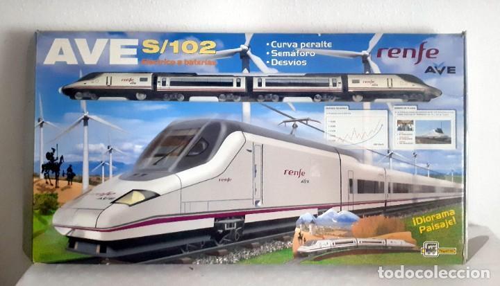 TREN PEQUETREN RENFE AVE (Juguetes - Trenes Escala H0 - Otros Trenes Escala H0)