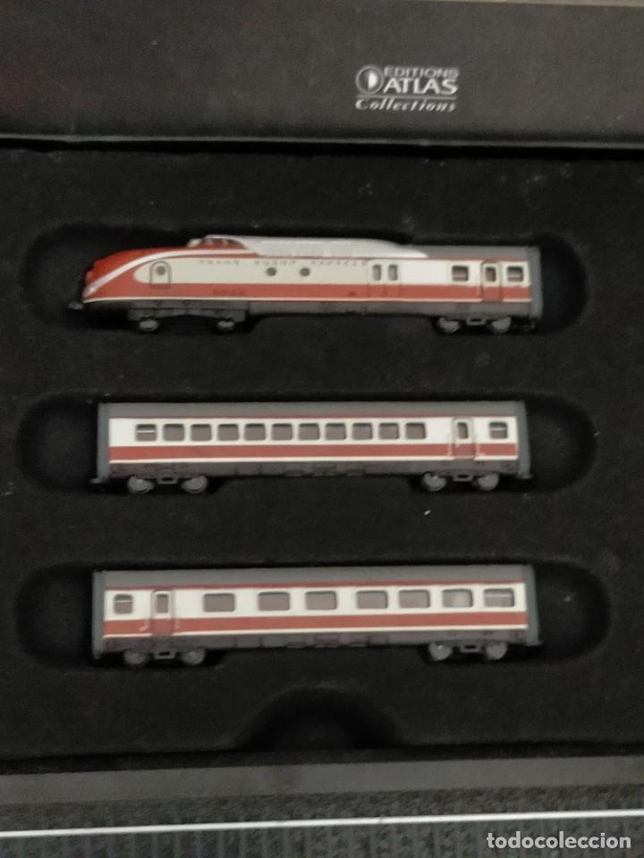 Trenes Escala: COLECCION MINITRAINS 1/220 10 JUEGOS TRENES EN SU ESTUCHE ESCALA TREN LOCOMOTORA VIAS ... VER TODO - Foto 2 - 217602177