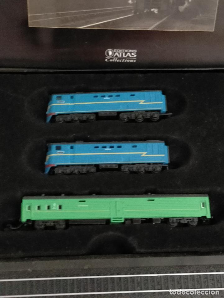 Trenes Escala: COLECCION MINITRAINS 1/220 10 JUEGOS TRENES EN SU ESTUCHE ESCALA TREN LOCOMOTORA VIAS ... VER TODO - Foto 3 - 217602177