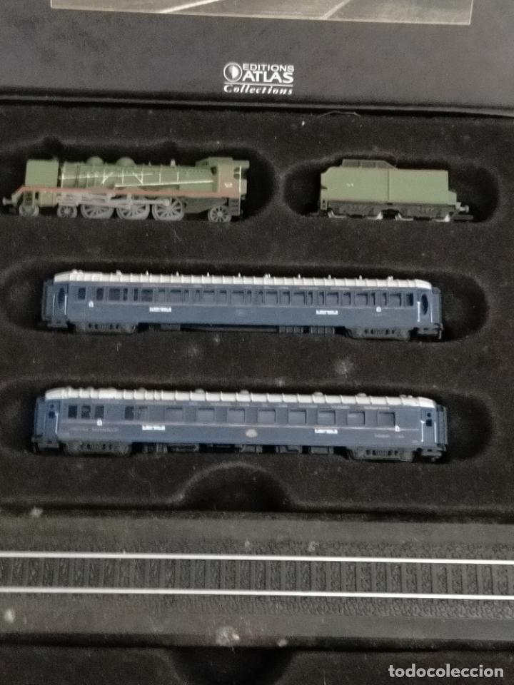 Trenes Escala: COLECCION MINITRAINS 1/220 10 JUEGOS TRENES EN SU ESTUCHE ESCALA TREN LOCOMOTORA VIAS ... VER TODO - Foto 6 - 217602177