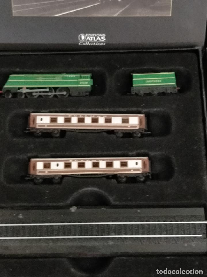 Trenes Escala: COLECCION MINITRAINS 1/220 10 JUEGOS TRENES EN SU ESTUCHE ESCALA TREN LOCOMOTORA VIAS ... VER TODO - Foto 7 - 217602177