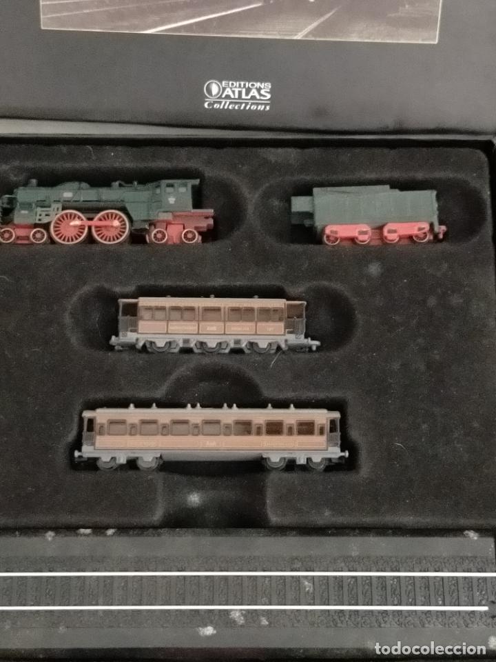 Trenes Escala: COLECCION MINITRAINS 1/220 10 JUEGOS TRENES EN SU ESTUCHE ESCALA TREN LOCOMOTORA VIAS ... VER TODO - Foto 8 - 217602177
