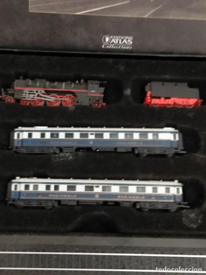 Trenes Escala: COLECCION MINITRAINS 1/220 10 JUEGOS TRENES EN SU ESTUCHE ESCALA TREN LOCOMOTORA VIAS ... VER TODO - Foto 9 - 217602177