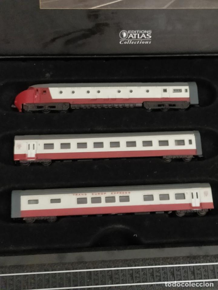 Trenes Escala: COLECCION MINITRAINS 1/220 10 JUEGOS TRENES EN SU ESTUCHE ESCALA TREN LOCOMOTORA VIAS ... VER TODO - Foto 10 - 217602177