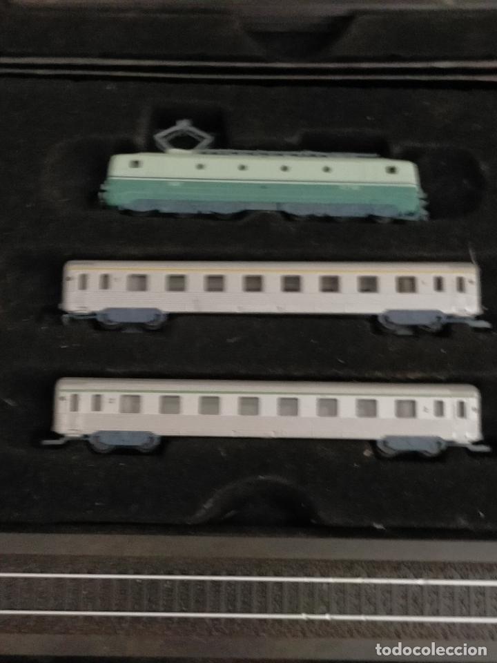 Trenes Escala: COLECCION MINITRAINS 1/220 10 JUEGOS TRENES EN SU ESTUCHE ESCALA TREN LOCOMOTORA VIAS ... VER TODO - Foto 11 - 217602177