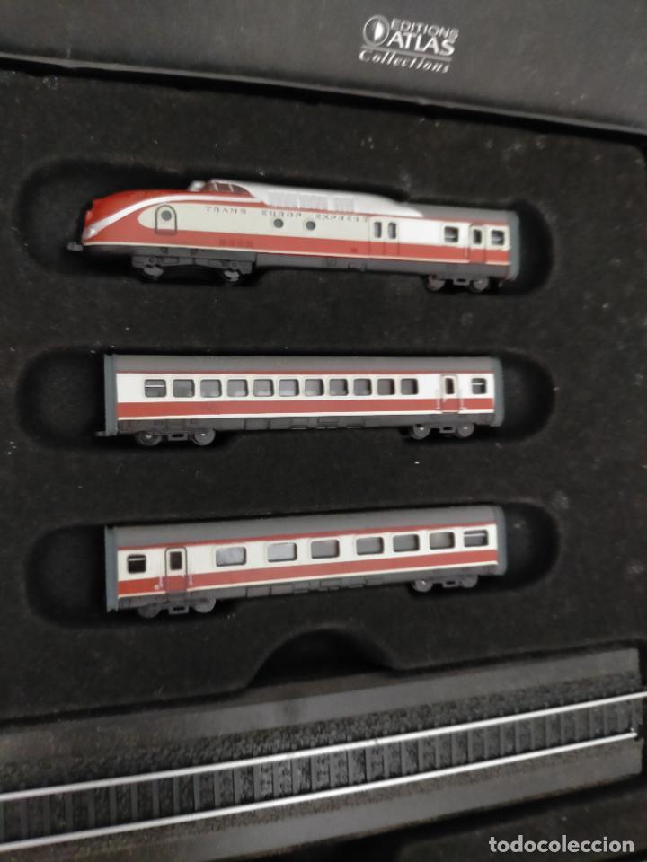 Trenes Escala: COLECCION MINITRAINS 1/220 10 JUEGOS TRENES EN SU ESTUCHE ESCALA TREN LOCOMOTORA VIAS ... VER TODO - Foto 13 - 217602177