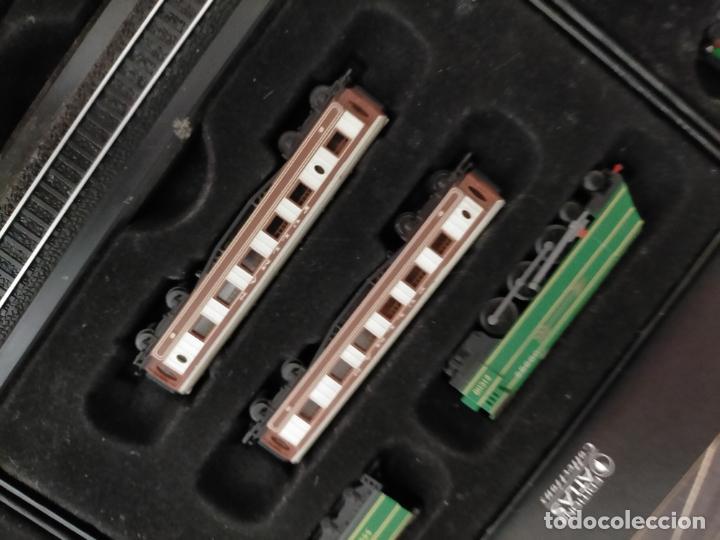 Trenes Escala: COLECCION MINITRAINS 1/220 10 JUEGOS TRENES EN SU ESTUCHE ESCALA TREN LOCOMOTORA VIAS ... VER TODO - Foto 16 - 217602177