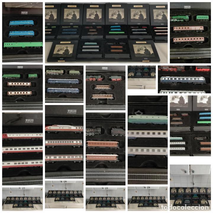 Trenes Escala: COLECCION MINITRAINS 1/220 10 JUEGOS TRENES EN SU ESTUCHE ESCALA TREN LOCOMOTORA VIAS ... VER TODO - Foto 19 - 217602177
