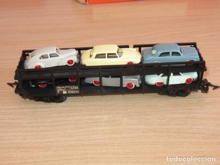Trenes Escala: JOUEF ANTIGUO VAGON REF 654 ESCALA 1/87, COCHES TIPO ANGUPLAS, ELECTROTREN,ETC - Foto 2 - 217826415