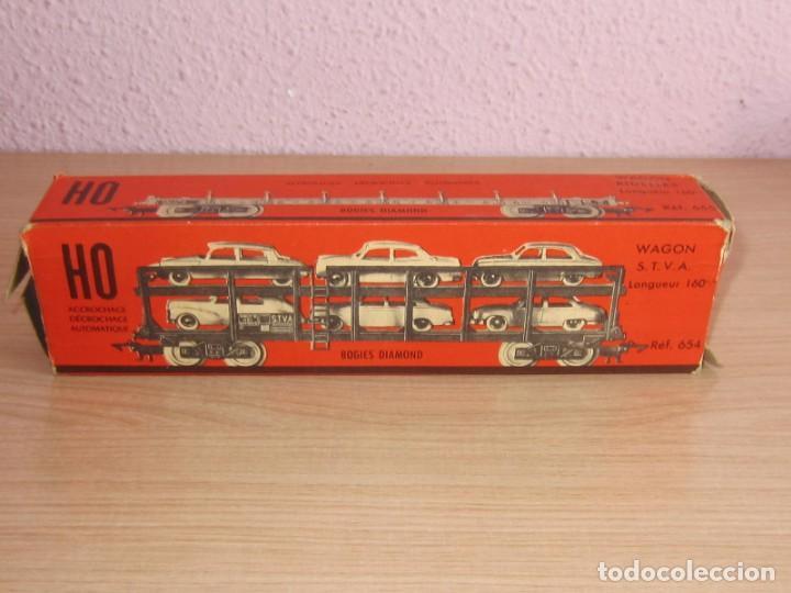 Trenes Escala: JOUEF ANTIGUO VAGON REF 654 ESCALA 1/87, COCHES TIPO ANGUPLAS, ELECTROTREN,ETC - Foto 3 - 217826415