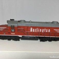 Trenes Escala: LOCOMOTORA MANTUA TYCO H0 BURLINGTON. Lote 218242415