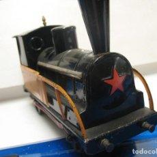Trenes Escala: LOCOMOTORA A CUERDA DECONOSCO MARCA ESCALA 2. Lote 218441452
