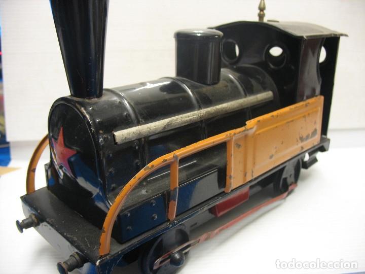 Trenes Escala: locomotora a cuerda deconosco marca escala 2 - Foto 2 - 218441452