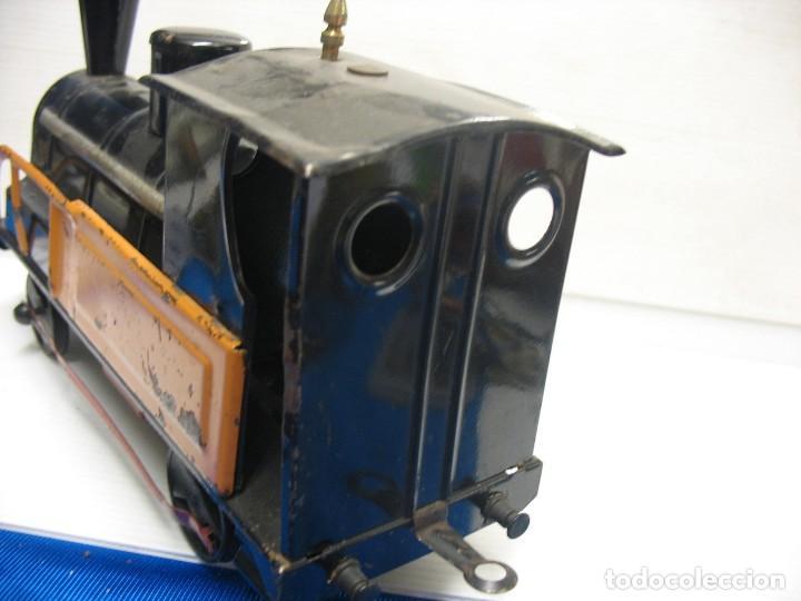 Trenes Escala: locomotora a cuerda deconosco marca escala 2 - Foto 3 - 218441452