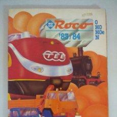 Trenes Escala: CATALOGO MODELISMO FERROVIARIO ROCO 1983/84/TRENES O-HO-HOE-N.. Lote 218711813