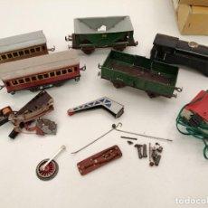 Trenes Escala: TREN PAYA HOJALATA PARA RECAMBIO, (VER FOTOS). Lote 218882515