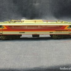 Trenes Escala: LOCOMOTORA JOUEF FRANCIA SNCF CC 6505 INSTALACION LUZ INTERIOR FALTA PATIN 5,5X24X3,5CM. Lote 218913445