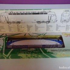 Trenes Escala: LOCOMOTORA SIEMENS EUROSPRINTER/RENFE 252. MEHANO PRESTIGE. A ESTRENAR. Lote 219010738