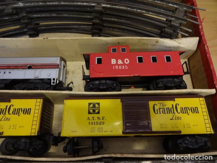 Trenes Escala: Antigua caja SET MODEL TRAIN. Made in Japan. Años 1960s - Foto 3 - 219177752