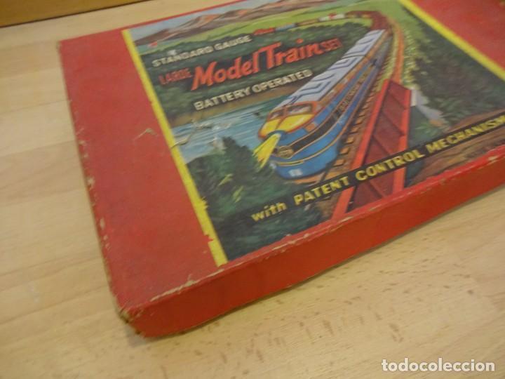 Trenes Escala: Antigua caja SET MODEL TRAIN. Made in Japan. Años 1960s - Foto 4 - 219177752