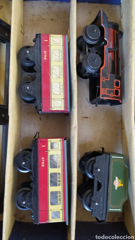 Trenes Escala: Lote trenes Hornby con caja m0 y n 21 + marklin - Foto 9 - 219212007