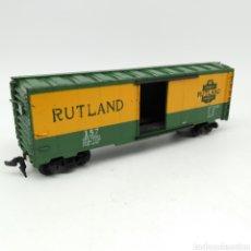 Trenes Escala: VAGÓN DE MERCANCÍAS MANTUA H0 RUTLAND. Lote 219657195