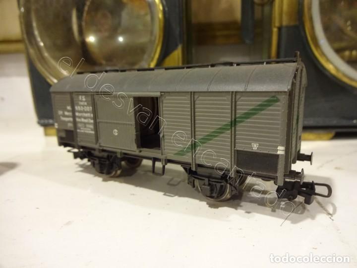 Trenes Escala: RIVAROSSI H0. Vagon mercancias abierto con carga a la vista - Foto 2 - 219741076
