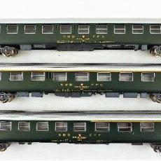 Trenes Escala: JOUEF H0 CONJUNTO DE TRES COCHES DE PASAJEROS SBB CFF. Lote 219839612