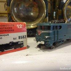 Trenes Escala: JOUEF H0. LOCOMOTORA ELÉCTRICA BB25110. REF: 8582. ALGUN DEFECTO. Lote 220093468
