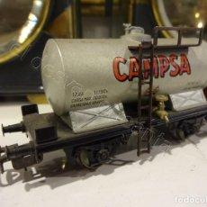 Trenes Escala: ELECTROTREN H0. VAGON CISTERNA CAMPSA. Lote 220094522