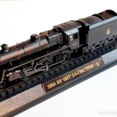Trenes Escala: TREN 1956: BR 4MT 2-6-0 NO. 76066 - MAQUETA DE METAL Y PASTA - 38.CM LARGO EN BLISTER. Lote 220886418