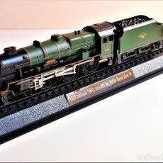 Trenes Escala: TREN 1927 (REBUILT 1950) EX-LMS NO 46100 ROYAL SCOT - MAQUETA DE METAL Y PASTA - 38.CM LARGO NUEVO. Lote 220886892