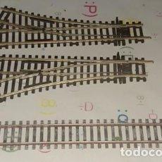 Trains Échelle: LOTE DE VÍA Y 2 CAMBIOS DE VÍAS PECO H0. Lote 221235068